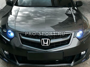 Modulo For Honda Accord 8 Acura Tsx 2008 2009 2010 Radiator Grille With Mesh
