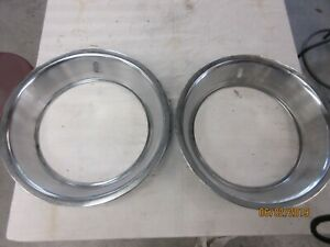 14 X 3 Wide Beauty Rings Amc Ford Mopar Gm 10 2