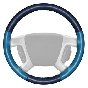 For Chrysler Concorde 93 95 Steering Wheel Cover Eurotone Two color Blue