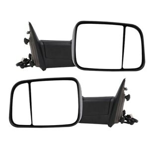 68142668ad 2 Power Heated Led Towing Mirrors Fit For Dodge Ram 1500 Pickup 2010