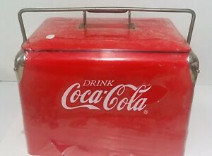 NEW OLD STOCK Coca Cola Cooler Picnic Box Ice Chest SEALED Collectible 2001