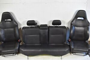 2006 2007 Subaru Impreza Wrx Wagon Leather Seats Door Panel Seat Set Front Rear