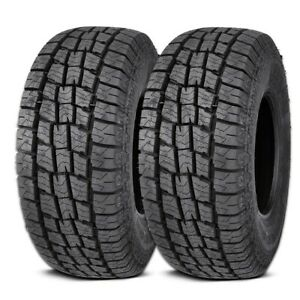 2 Lionhart Lionclaw Atx2 Lt265 75r16 123 120s 10p As M S All Terrain Truck Tires