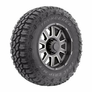 4 New Thunderer Trac Grip M t Lt 265 70r17 Load E 10 Ply Mt Mud Tires