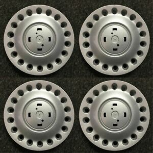 Set Of Oem Center Caps For 1998 2005 Volkswagen Beetle 1c0 601 149a Without Logo