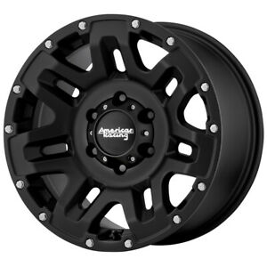 4 american Racing Ar200 Yukon 17x8 5 6x5 5 0mm Black Wheels Rims 17 Inch