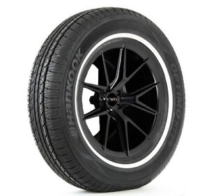 2 P205 75r14 Hankook Optimo H724 95s Xl White Wall Tires