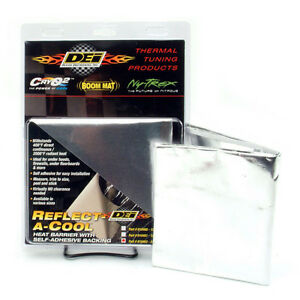 Dei Hi temp Foil Blanket Reflect A Cool Engine Heat Barrier 36 x48 Sheet 010412
