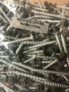 500 Brown Slate 10 X 2 1 2 Pole Barn Rubber Washer Galvanized Roofing Screw