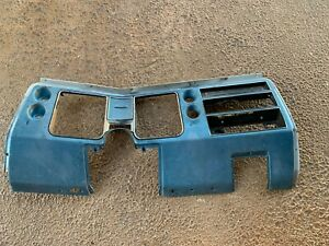 1968 Chevelle Dash Bezel Gauge Cluster Carrier Housing No A C El Camino Malibu