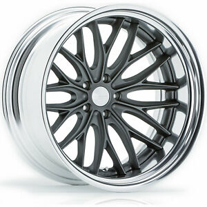 5 20x12 Gray Wheel Vossen Vws2 5x5 44