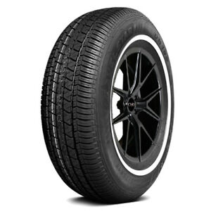 4 p205 75r14 Travelstar Un106 95s White Wall Tires