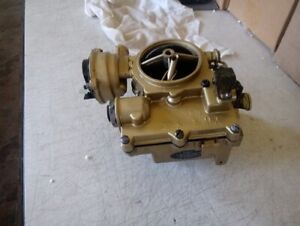 Rochester Rebuilt 2 Barrel Carburetor With Live Video Testing Small Top Chevy