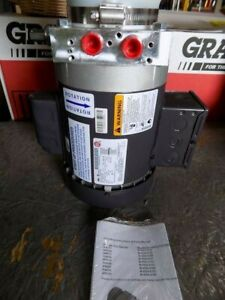 Hydraulic Power Unit 1 2 Hp 1ph Monarch M 4504 0158