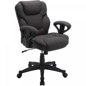 Big And Tall Office Chair Fabric Manager Heavy Duty Swivel