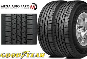 2 Goodyear Wrangler Sr a P245 70r16 106s Highway All season Traction Truck Tires