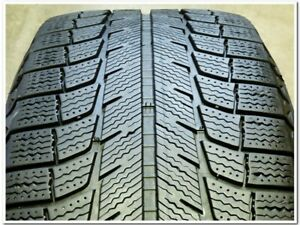 2 Michelin Latitude X ice Xi2 255 55r18 109t Used Winter Tire 7 8 32 79052