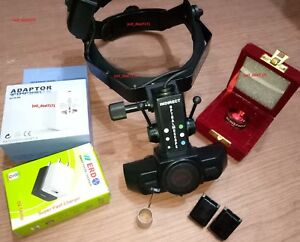 Binocular Indirect Ophthalmoscope optometry With 90 D Lens W 987r