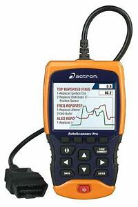 Must See Actron Cp9695 Auto Scanner Pro Obd Ii Scan Tool Scanner Automotive