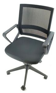 Uniware Ergonomic Backrest Lumbar Support Adjustable Rolling Swivel Mesh Office