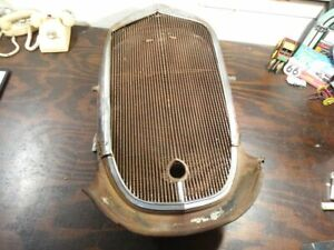 1936 Chevy Truck Grille Shell Assembly Grill 35 36 Project Hot Rat Rod S81