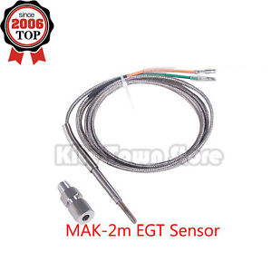 Egt Sensor Probe 2m Exhaust Gas Temperature Temp Sensor Exhaust Sensor New