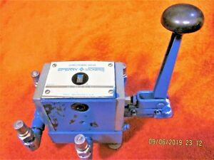 1 Sperry Vickers Directional Valve Dg17s4 018n 50 4 Way 3 Position 20 Gpm