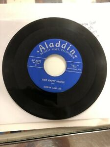 Shirley amp; lee Two happy people the proposal 45 rpm record Aladdin records 45 320 $125.00