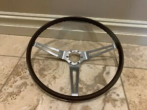 Comfort Grip Sport Wheel 1969 1975 Corvette Chevelle Rare Brown Color