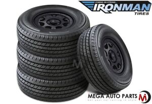 4 Ironman All Country Cht Lt235 80r17 10 120 117r All Season M s Truck Suv Tires