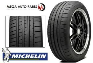 1 Michelin Pilot Super Sport 255 40r18 95y Maximum Performance Summer Uhp Tires