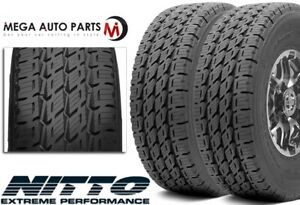 2 Nitto Dura Grappler Lt325 60r18 124r 10pr Truck All Season Highway Tires