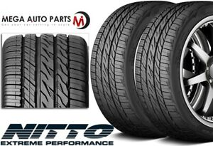 2 Nitto Motivo 295 30zr20 101w All Season Traction Ultra High Performance Tires