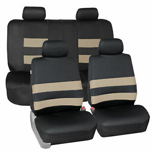 Universal Neoprene Seat Covers For Auto Car Suv Van Full Set 9 Colors