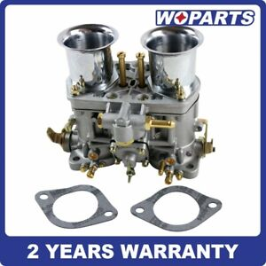 New 48 Idf Carburetor Carb Fit For Solex Dellorto Weber Empi 48mm W Air Horns