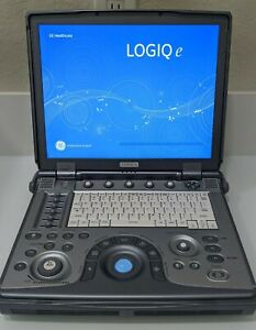 Ge Logiq E Bt09 Portable Ultrasound W 1 Probe