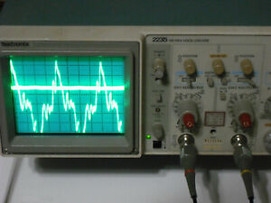 Tektronix 2235 100mhz Dual Channel Oscilloscope Working Condition