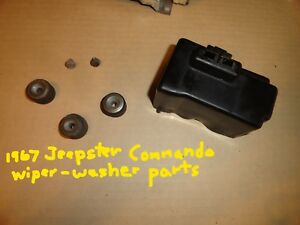 1967 Jeep Jeepster Commando Misc Wiper Washer Parts Grommets Screws Cover
