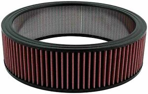 Allstar Performance 14 X 4 In Tall Reusable Air Filter Element P N 26002