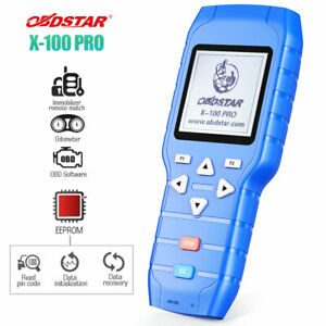Obdstar X 100 Pro Auto Programmer Tool C D E For Immo Odo Meter Obd Software
