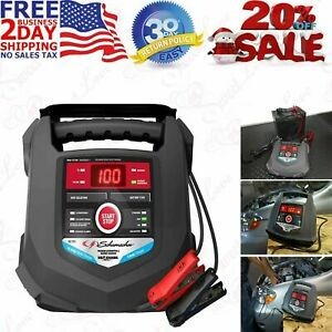 Automatic Rapid Battery Charger 6 12v And 15a Maintainer Schumacher Sc1280