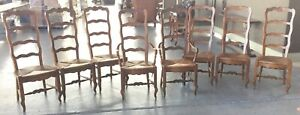 8 Drexel Dining Chairs French Provincial
