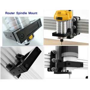 Cnc Router Engraver Spindle Fixture 80mm Spindle Mount Kit Fit Engraving Machine