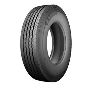 2 New Michelin X Multi Z 285 70r19 5 Load H 16 Ply Commercial Tires