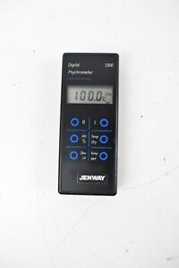 Jenway Digital Psychrometer 5100 Key Pad Sold As Is Power Tested Free Shipping