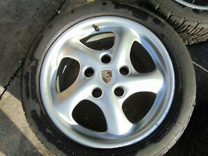 Porsche Boxster 986 Set Rims Wheels 17x7 7x8 5 1997 04 996 Straight