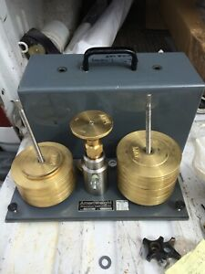 Dead Weight Tester Model 50 03 Ameriweight