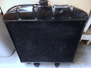 Mercedes 220s Se Ponton Genuine Behr Radiator Assembly Good Overall Condition