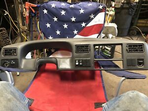 F650 F750 Super Duty Dash 99 10 Cluster Bezel Grey Oem