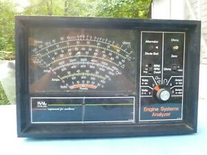 Used 1960 S Vintage Kal Equipment Engine Systems Analyzer 60 2963